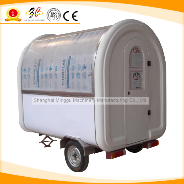 304 stainless steel Food truck for sell(CE&ISO9001 Approval,Manufacturer)