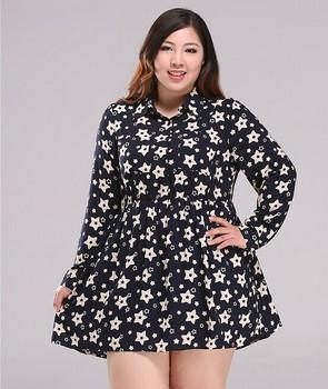 Moda Más Tamaño Verano Diseño Las Mujeres Impreso Señoras Vestido De Diseño De Guangzhou Buy Vestido De Una Pieza Con Estilo 2018diseño De Frock