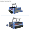 laser cutting machine camera digital textile printing SF1810SC