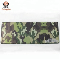 Customized camouflage printed personalized computer gaming mouse pad