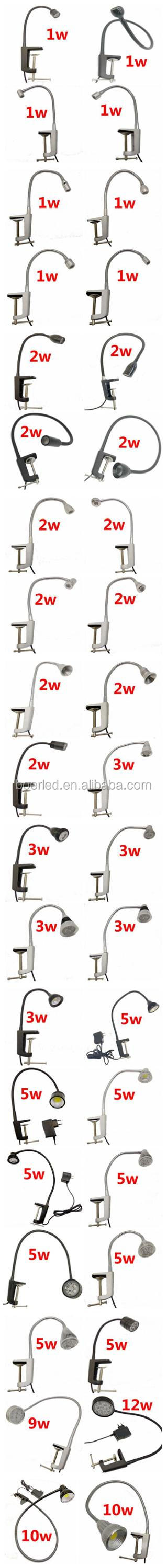 5W LED SEWING MACHINE TABLE CLAMP LAMP