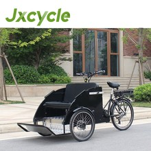 Classic and Free front seat bicycle rickshaw