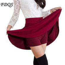 Summer Style Korean version Skirts safty mini skirt women's spring and summer high waist pleated short skirt