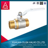 china valve manufacturer Brass stem ball valve Manual Power and Water Media gas valve types