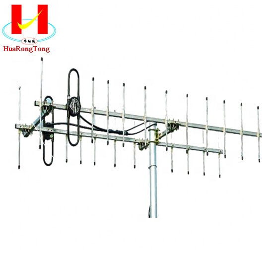 400MHz 16dbi high gain directional UHF Yagi <strong>antenna</strong> for HDTV transimission