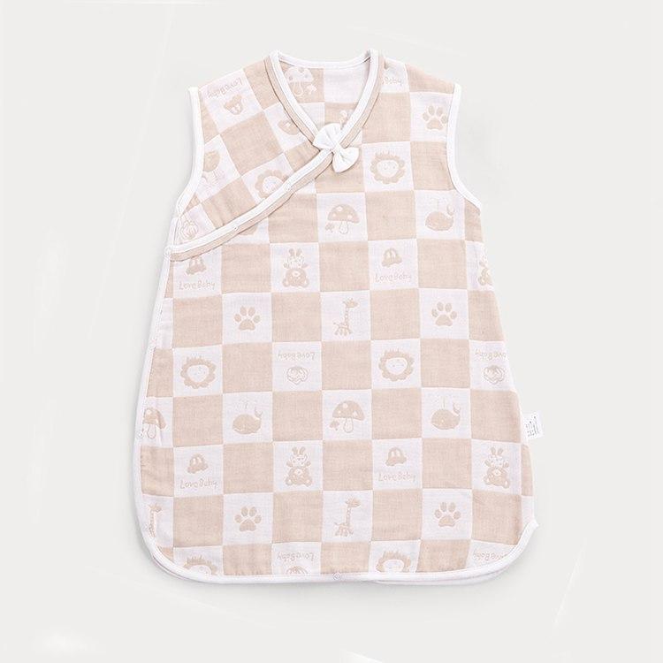 คุณภาพสูง 100% ผ้าฝ้ายสวมใส่ถุงนอนเด็ก