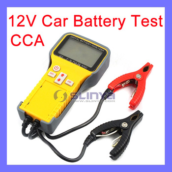 12 Vehicle Battery Test Cca Voltage 48cm Cable Digital Battery