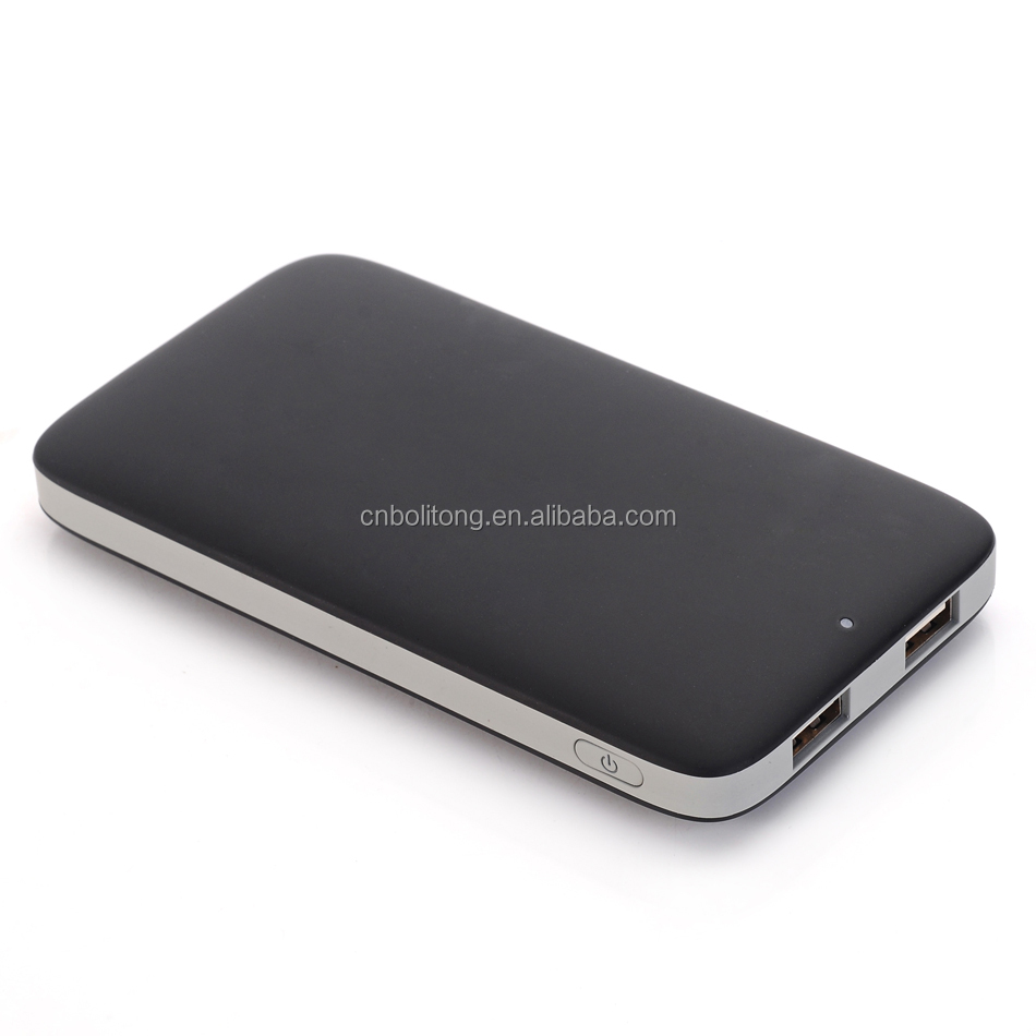 2017 Qualcomm quick charge QC 2.0 6000mAh Portable Power Bank