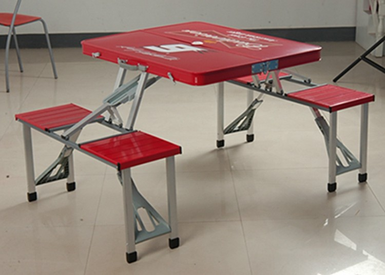High quality Aluminum folding picnic camping table