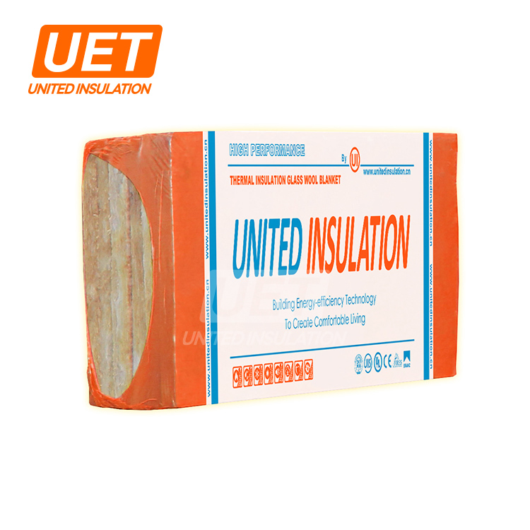 Rock Wool Mineral Wool Covered With Wire Mesh Metal Msds