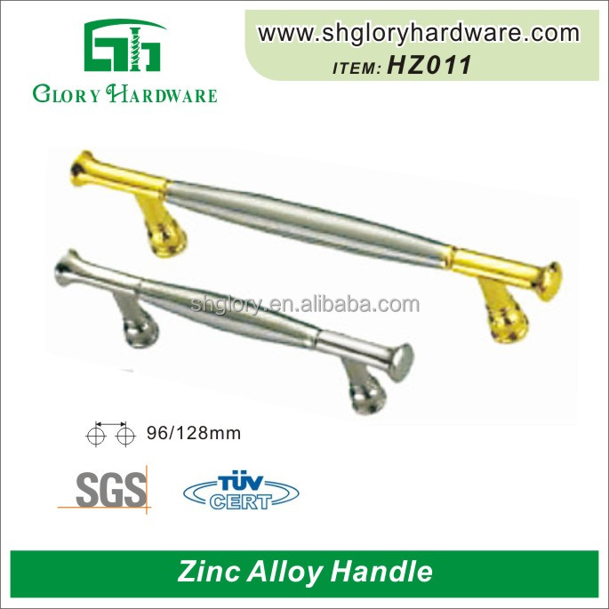 2016 Bedroom Cabinet Drawer Zinc Metal Door Furniture Handle