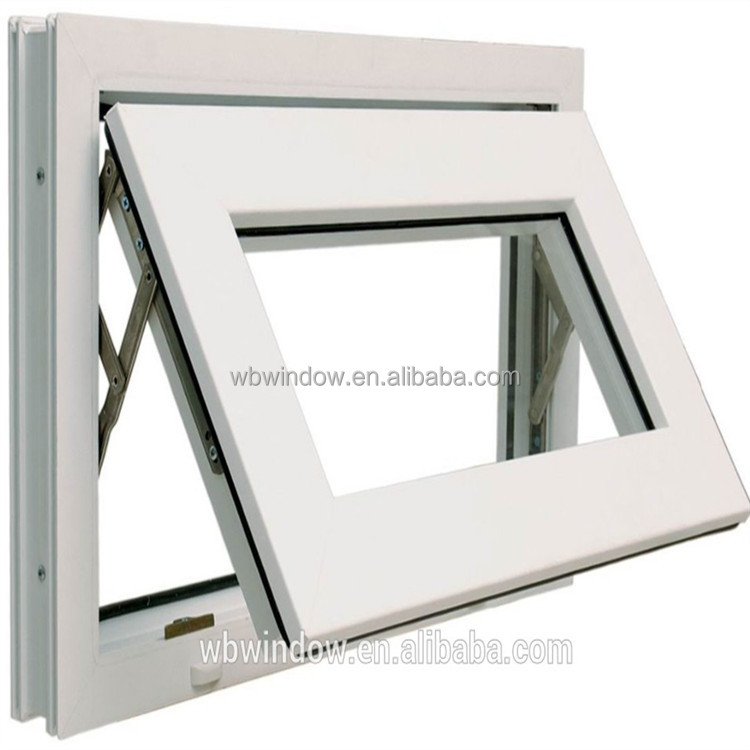 High Quality Upvc Top Hung Window 10 Manufacturers Opener Product On