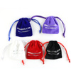 Free Sample Wholesale/ Custom drawstring velvet pouch for jewelry