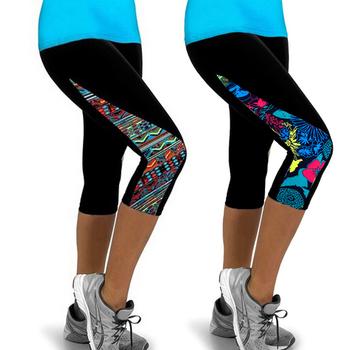 d99834110dbcf Summer Fitness Sport Pantalones Mujer Pants Ropa Deportiva Calzas  deportivas mujer Fitness for Women Pants
