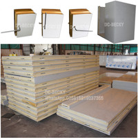 Cam lock polyurethane panels cold room cold storage room of different sizes