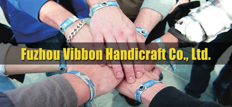 China Supplier Printed Custom Woven Wristbands