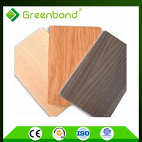 Greenbond hand carved wood aluminum composite panels