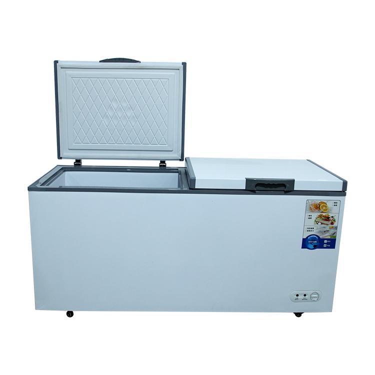 Supermarket horizontal freezer chest freezer deep freezer