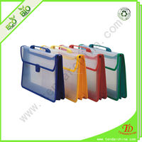 Recycled Plastic Case With Handle PP Office Portfolio File Folder