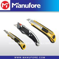 3pcs utility knives set,(18mm+9mm+trapezoid)blade knives
