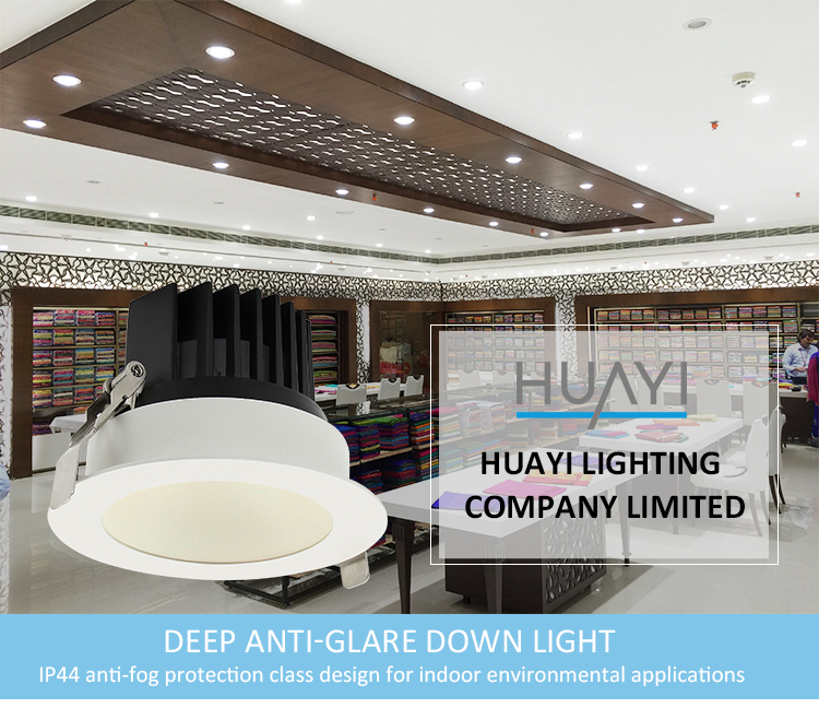 Etl Waterproof Ip44 Dali Dimmable Cct Changeable Colour Changing Led Grille Downlight
