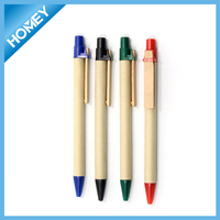 Eco friendly recycled paper pen
