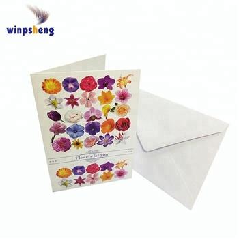 full color printing paper folded invitation card buy paper folded
