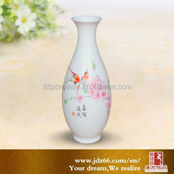 Ceramic flower vase Western style made in china