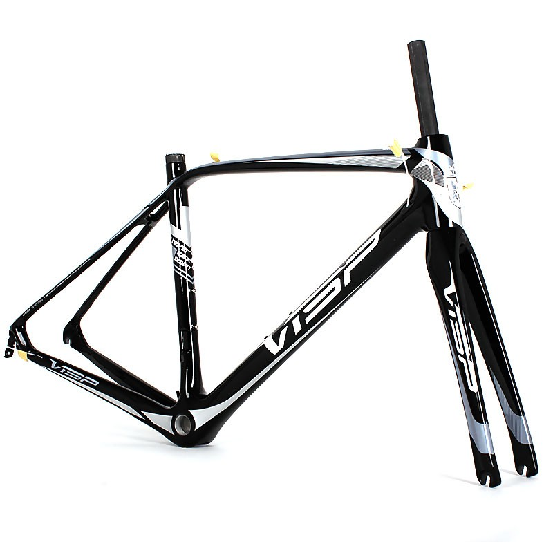 Internal All Cable Routing Carbon 52cm Road Bike Frame