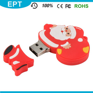 New Promotional Cartoon Character USB Flash Drive For Christmas Gift