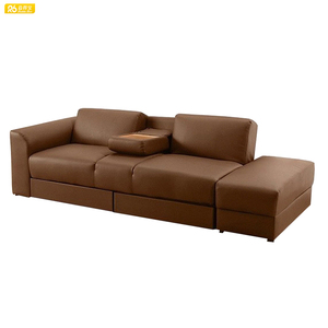 European best sell pu italian leather sofa bed 309#