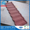JINHU terracotta red stone coated steel roofing tile