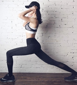 custom High waist fitness leggings for women sexy hip push up pants workout leggings fashion