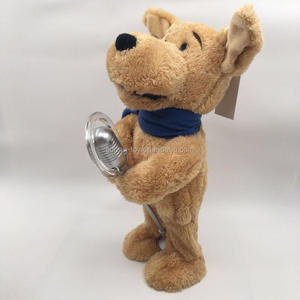 Animated Singing Dog Toy With Microphone For Lovers Gifts
