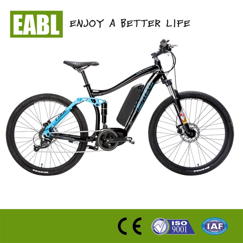 Fast electric mountain bike with bafang mid motor buy for Mid motor electric bike