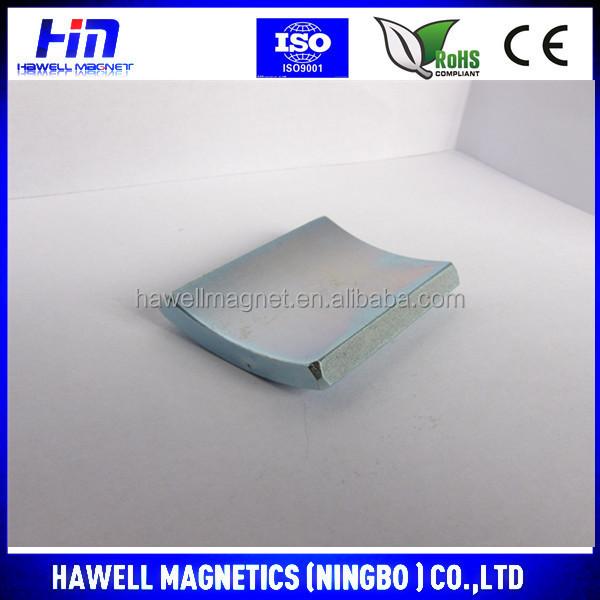 Strong Segment Arc Ndfeb Neodymium Magnets/motor Segment Magnet ...