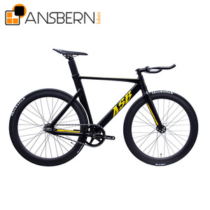 Popular 700C 6061 Aero Aluminum Fixie Bike ASB-FG-A11 supermotard bike
