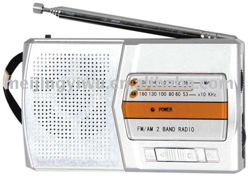 K-702 good quality promotion gift am/fm pocket radio
