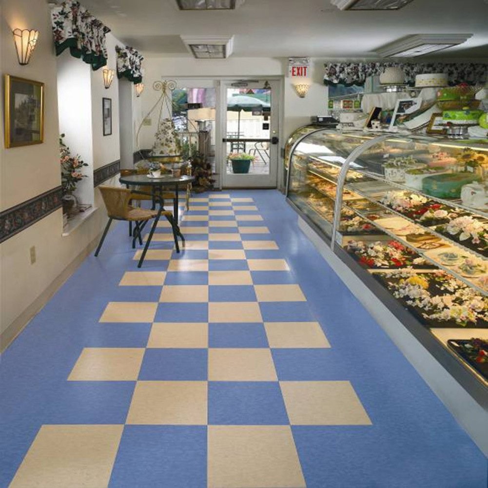 Pvc wood flooring/pvc stone flooring/wood grain flooring/mosaic parquet-A 45.7x45.7cm(18x18inch)