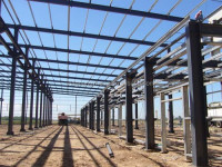 light metal prefabricated steel structure building