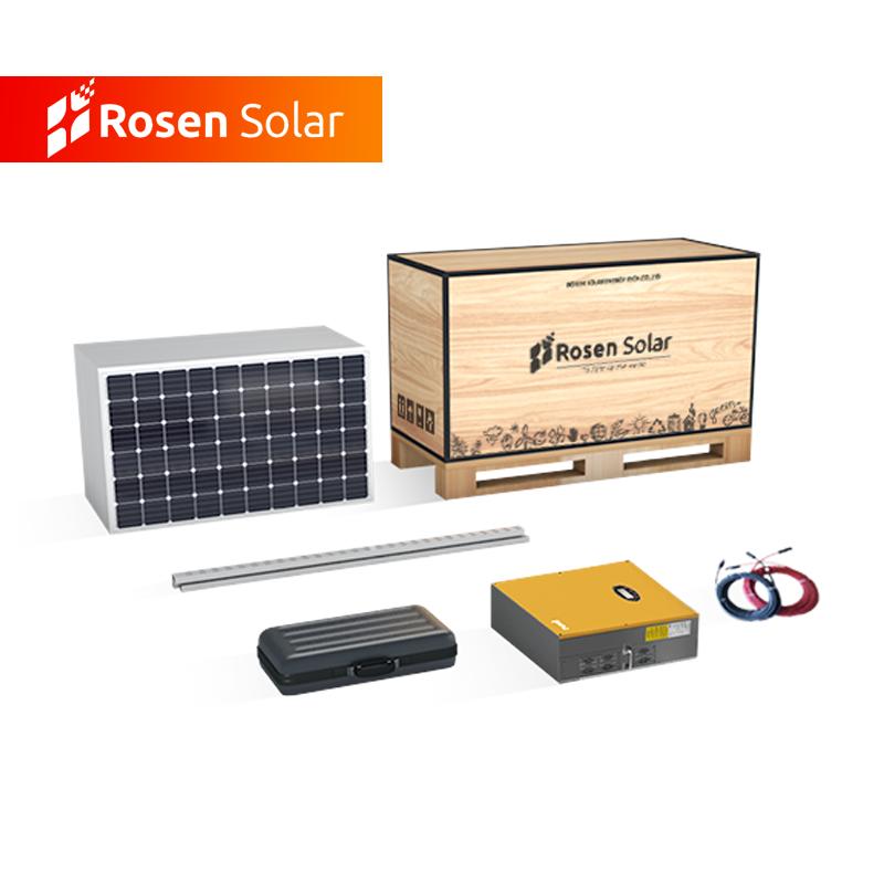 จัดส่งฟรี 15kw พลังงานแสงอาทิตย์สร้างระบบ