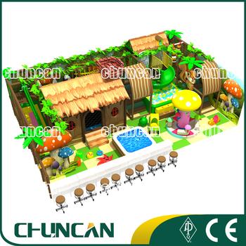 Jungle Theme Kids Indoor Play Ground Children Climbing Games