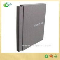 Full color printing high quality hard cover book printing with slipcase
