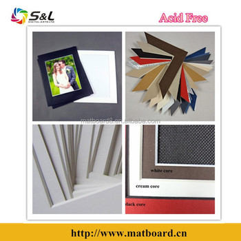 Photo Framing Matboard /passepartout Acid Free With All The Popular ...