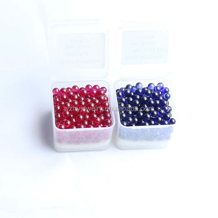 Popular Ruby Pearl Terp Ball 4mm 6mm 8mm for dab spinning ball Insert 25mm Quartz Banger Nails honey bucket