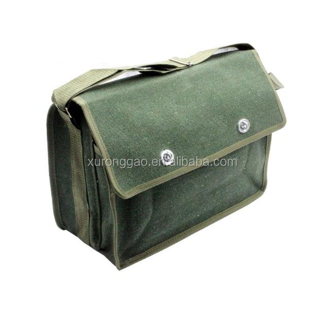 קלאסי ירוק כבד החובה כותנה בד אחסון תיק כלי