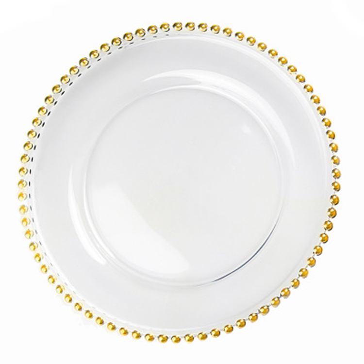 Wholesale round fancy ceramic wedding charger dinner <strong>plates</strong> for sale