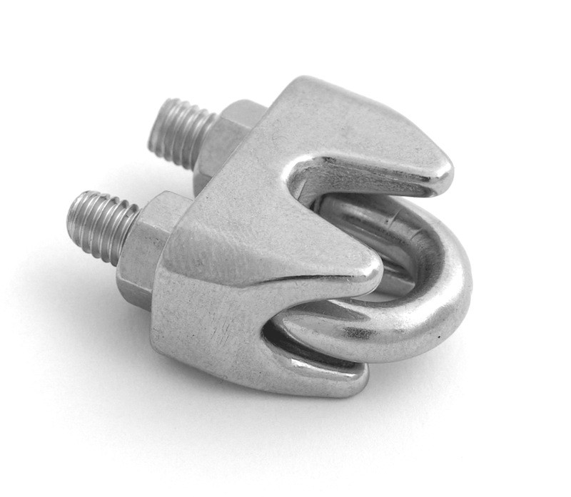 Din Wire Rope Clip Stainless Steel Heavy Duty Ss 304 Adjustable ...
