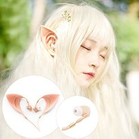 Elves headphones Costume Cosplay Spirit Earphones Headphones In-Ear Earbuds Remote cos photography