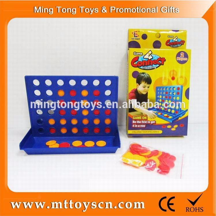 Kids plastic play exciting promotional mini game chess set